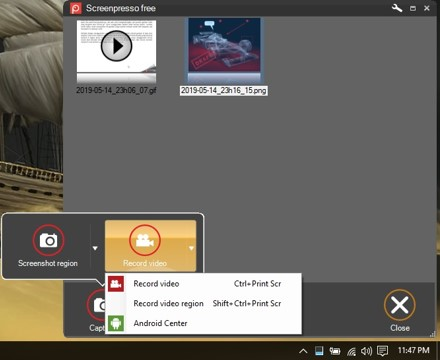 Cara Screenshot Menggunakan ScreenPresso di Windows 7
